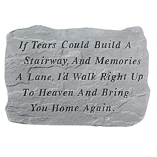 - Design Toscano If Tears Could Build A Stairway: Cast Stone Memorial Garden Marker