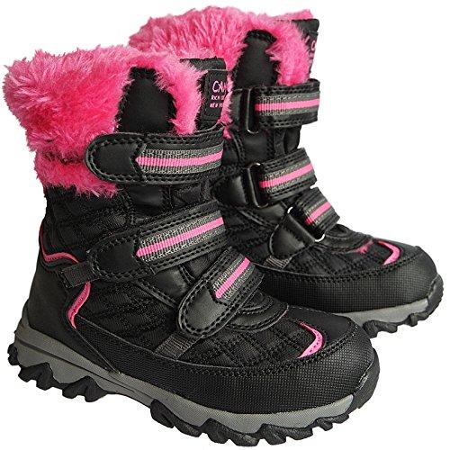 Mädchen Kinder Winter Stiefel Boots warmfutter gr.25 - 36 art.nr.5009/10 schwarz