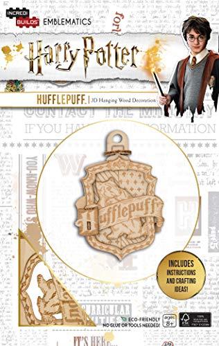 Insight Editions IncrediBuilds Emblematics: Harry Potter: Hufflepuff