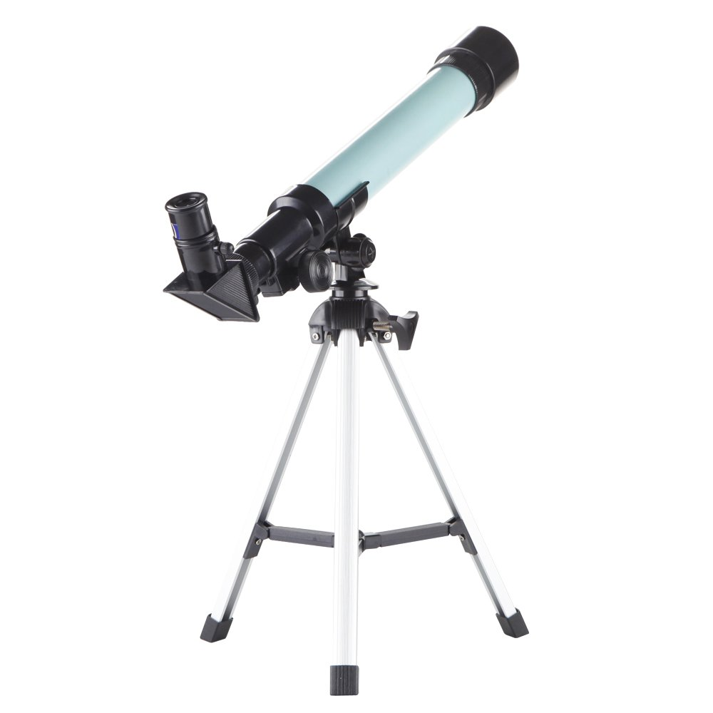 Kidcia Telescope for Kids Educational Preschool Science Telescope Plastic Toy for Beginners My First Telescope 3 Magnification Eyepieces and Tripod Enjoy Steady Observation of Astronomy