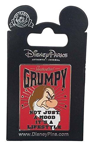 Disney Pin - Grumpy - Not Just a Mood It