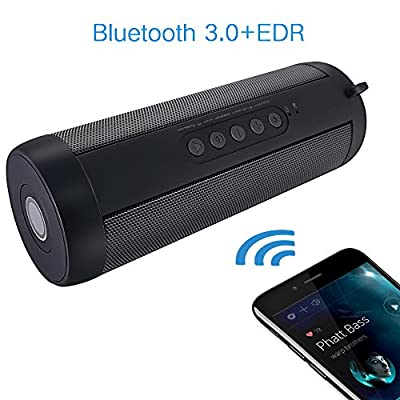 KORJO Bluetooth Speaker Wireless Waterproof Speaker Support TF Card AUX USB by Swomall