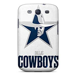 New VariousCovers Super Strong Dallas Cowboys Logo Nfl Tpu Case Cover For Galaxy S3