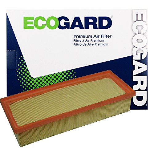 ECOGARD XA6093 Premium Engine Air Filter Fits Audi A4 Quattro, Q5, A5 Quattro, A4, allroad, A5, A4 allroad (Best Audi A4 Engine)