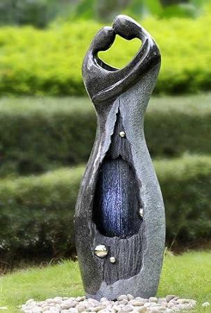 Brunnen Springbrunnen Aussen+Innen 118cm FoStatua 10209: Amazon.de ...