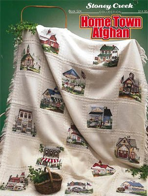 (Home Town Afghan Cross Stitch Chart)