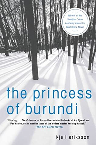 book cover of The Princess of Burundi