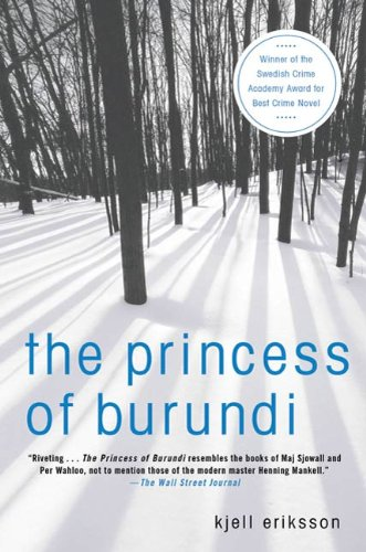 The Princess of Burundi: A Mystery (Ann Lindell Mysteries Book 1)