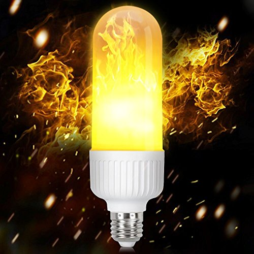 LED Flame Effect Light Bulbs, HogarTech E26/E27 Fire