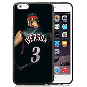 New Personalized Custom Designed For iPhone 6 Plus 5.5 Inch Phone Case For Allen Iverson Back Phone Case Cover hjbrhga1544 by ruishername