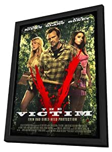 The Victim 27x40 Framed Movie Poster (2011)