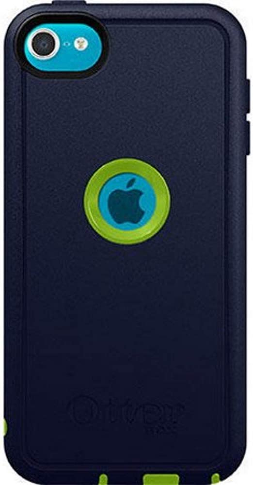 OtterBox Defender Case for Apple iPod Touch 6th and 7th gen Retail Packaging - Punk (Glow Green/Admiral Blue)