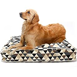 SHILINWEI Soft Cotton Pets Dogs Beds Kennels Sofa for Large Dog Cat Bed House Mats Warm Pets Small Dogs Beds Kennel Pens Chihuahua,Brown,M 70X50X12Cm