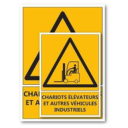 Signal/étique Danger chariots /él/évateurs A5