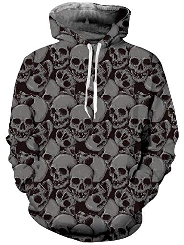 TUONROAD 3D Personalized Graphic Hoodie Shirt Jumpers Halloween