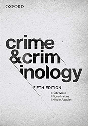 Amazon. Com: crime and criminology 5e (9780195518306): rob white.