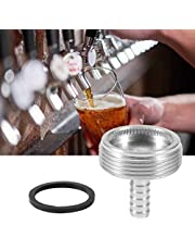 Stainless Steel Beer Tap Faucet Cleaning Attachment Adapter Accessories Kitchen Spray Nozzle Faucet Sprinkler Adapter 1/4