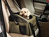 CUSCUS Pet Car Booster Seat and Carrier for Dogs and Cats up to 15 Pounds Beige, My Pet Supplies