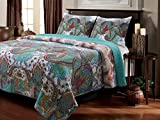 Pier1 Imports Best Deals - Greenland Home 3-Piece Nirvana Quilt Set, King