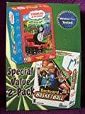 Thomas & Friends--trouble on the Tracks and Backyard Basketball 2 Cd Rom Pack