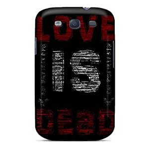 Excellent Galaxy S3 Case Tpu Cover Back Skin Protector Love Is Dead