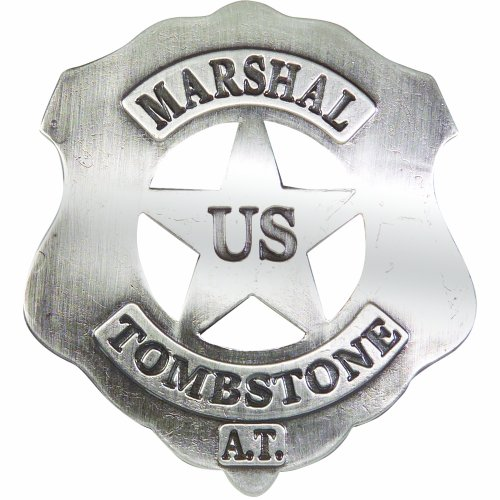 Denix Old West Replica Tombstone U.S. Marshall's Badge]()