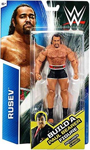 Build Paul Bearer Neville Exclusive Action Figure WWE Basic Series