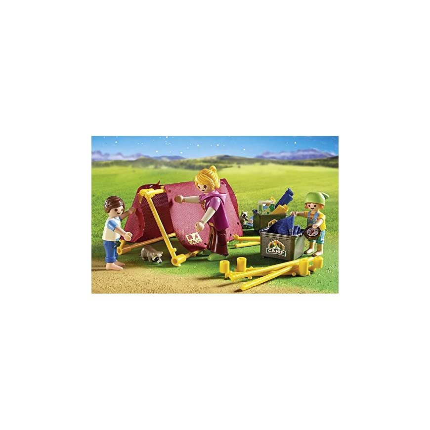 Playmobil 6888 Summer Fun Camp Site with LED Fire - Cutkid ...