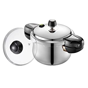 PN Poong Nyun Hi Clad Hive 3ply Pressure Cooker 2.6-Quarts