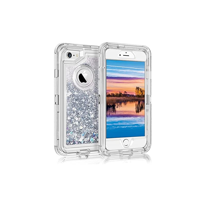 Coolden Cute Glitter Case for iPhone 6S