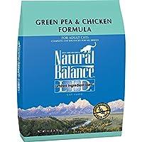 Equilibrio Natural L.I.D. Dietas de ingredientes limitados Comida seca para gatos, sin grano, guisante verde y fórmula de pollo, 10 libras