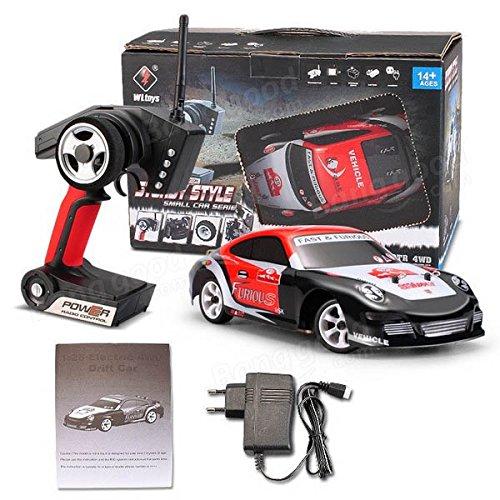 RaiFu ラジコンカー リモコンカー 四輪駆動ミニRCカー 高速 RCカー ドリフトカー 2.4Ghz  ブラシ付き 子供 ギフト おもちゃ プレゼント 贈り物