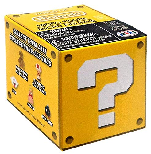 - Micro Figure World of Nintendo Wave 2 Blind Box - One Random Figure