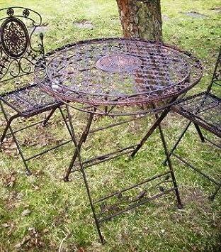 Eisentisch Garten.Kuheiga Romantischer Gartentisch Metalltisch Eisentisch Tisch