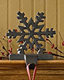 Iron Snowflake Stocking Hanger