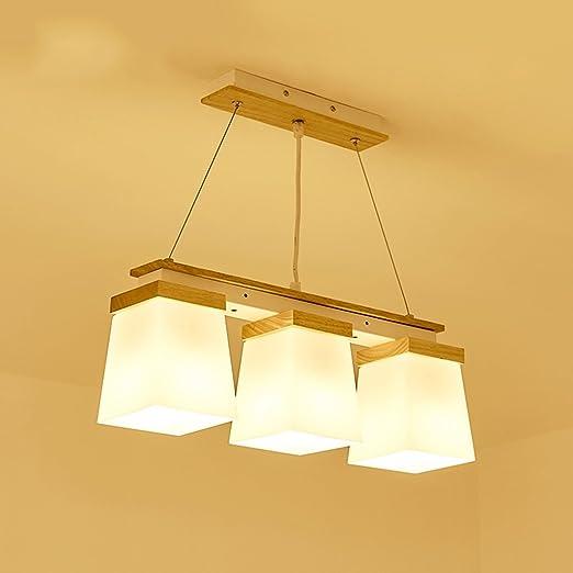 Lampadario a sospensione 3 testa ristorante lampadari a mano E27 in ...