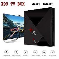 X99 TV Box RK3399 Mali - T860MP4 4GB 64GB Smart TV Box Android 7.1 HDR10 2.4G + 5G + AC WiFi Set-Top Box Bluetooth Media Player