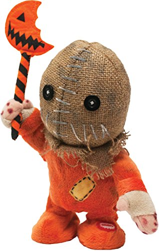 Morbid Enterprises Trick R Treat Animated Table Top Sam, Orange/Black/Brown/Cream, One Size]()