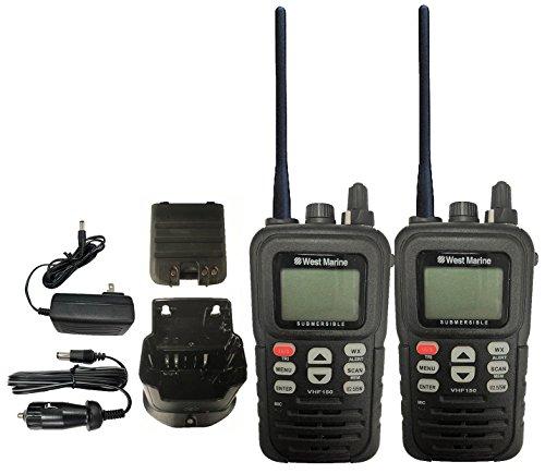 vhf150 dsc handheld radio submersible