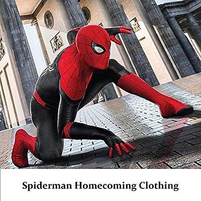 ZUOZHE Adultos Disfraz De Spiderman Fiesta De Halloween Cosplay ...