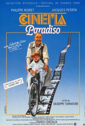 Cinema Paradiso Póster de película French 11 x 17 en - 28 cm x 44 cm ...