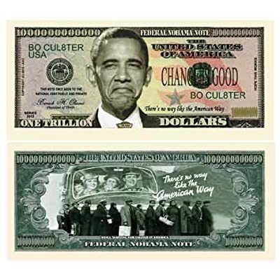 American Art Classics Pack of 5 - Nobama 2012 Trillion Dollar Bill: Toys & Games