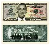 Set of 100 - Nobama 2012 Trillion Dollar Bill