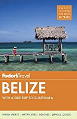 Written by locals, Fodor's travel guides have been offering expert advice for all tastes and budgets for more than 80 years. Belize might just have the greatest variety of flora and fauna of any country of its size in the world. Offshore the ...