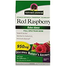 Red Raspberry Leaf by Nature's Answer - 90 capsules