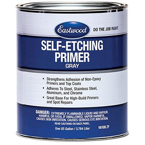 Eastwood Self Etch Primer Gray Steel Aluminum Chrome 120 SQ Gallon 96 oz