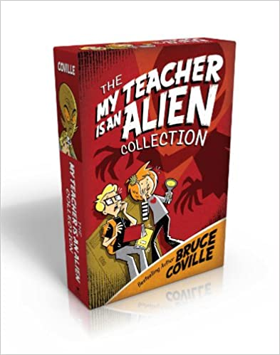 Read The My Teacher Is an Alien Collection: My Teacher Is an Alien; My Teacher Fried My Brains; My Teacher Glows in the Dark; My Teacher Flunked the Planet (My Teacher Books) PDF, azw (Kindle), ePub