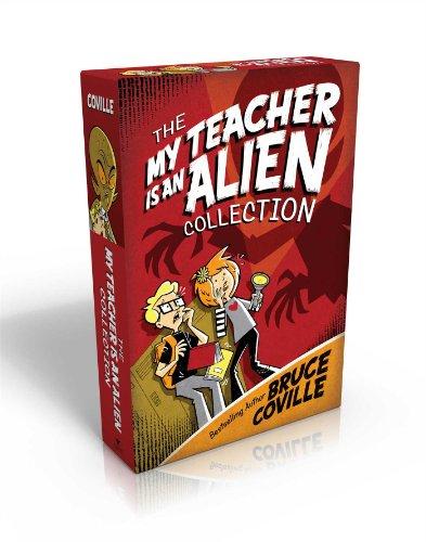The My Teacher Is an Alien Collection: My Teacher Is an Alien; My Teacher Fried My Brains; My Teacher Glows in the Dark; My Teacher Flunked the Planet (My Teacher Books)