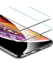 ESR Pellicola per iPhone 11 PRO Max/XS Max [2 Packs][Kit d'Installazione Gratis] Pellicola Vetro Temperato [Anti-Graffo/Olio] con 9H Durezza Protezione per Apple iPhone XS Max/iPhone 11 PRO Max.