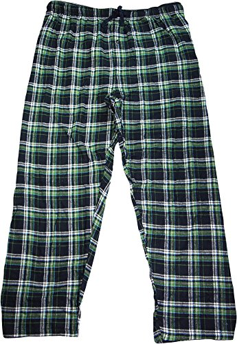 Hanes Men`s Flannel Pants with Comfort Flex® Waistband,02006/02006X,5XL by Hanes (Image #2)